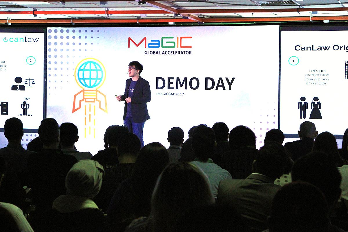 Demo Day at MaGIC, the Malaysian Global Innovation & Creativity Center, in Kuala Lumpur.