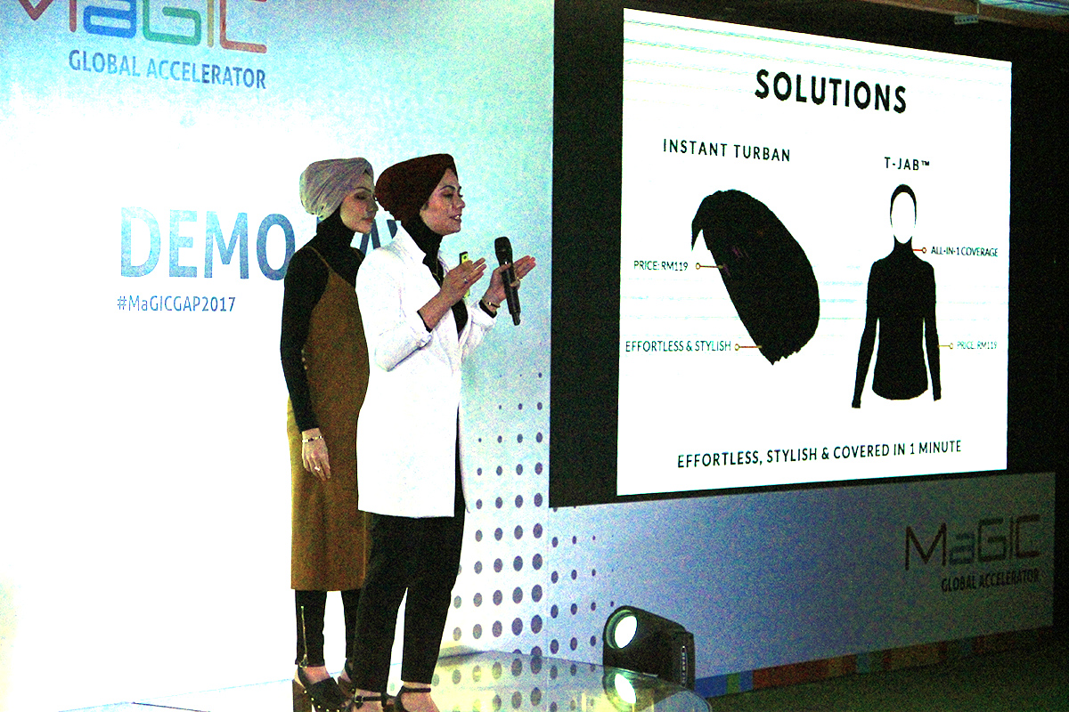 Inspired Soul, a fashion brand from Denmark, was one of the startups that showcased their products and services at MaGIC 2017.