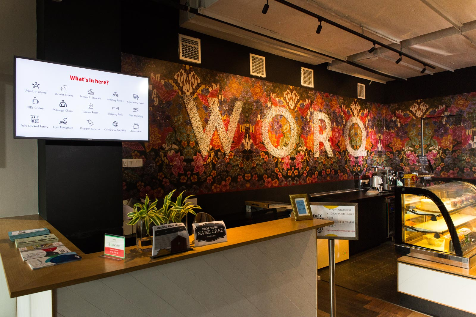 WORQ is open 24-7, allowing digital nomads and entrepreneurs the freedom to chose when they work.