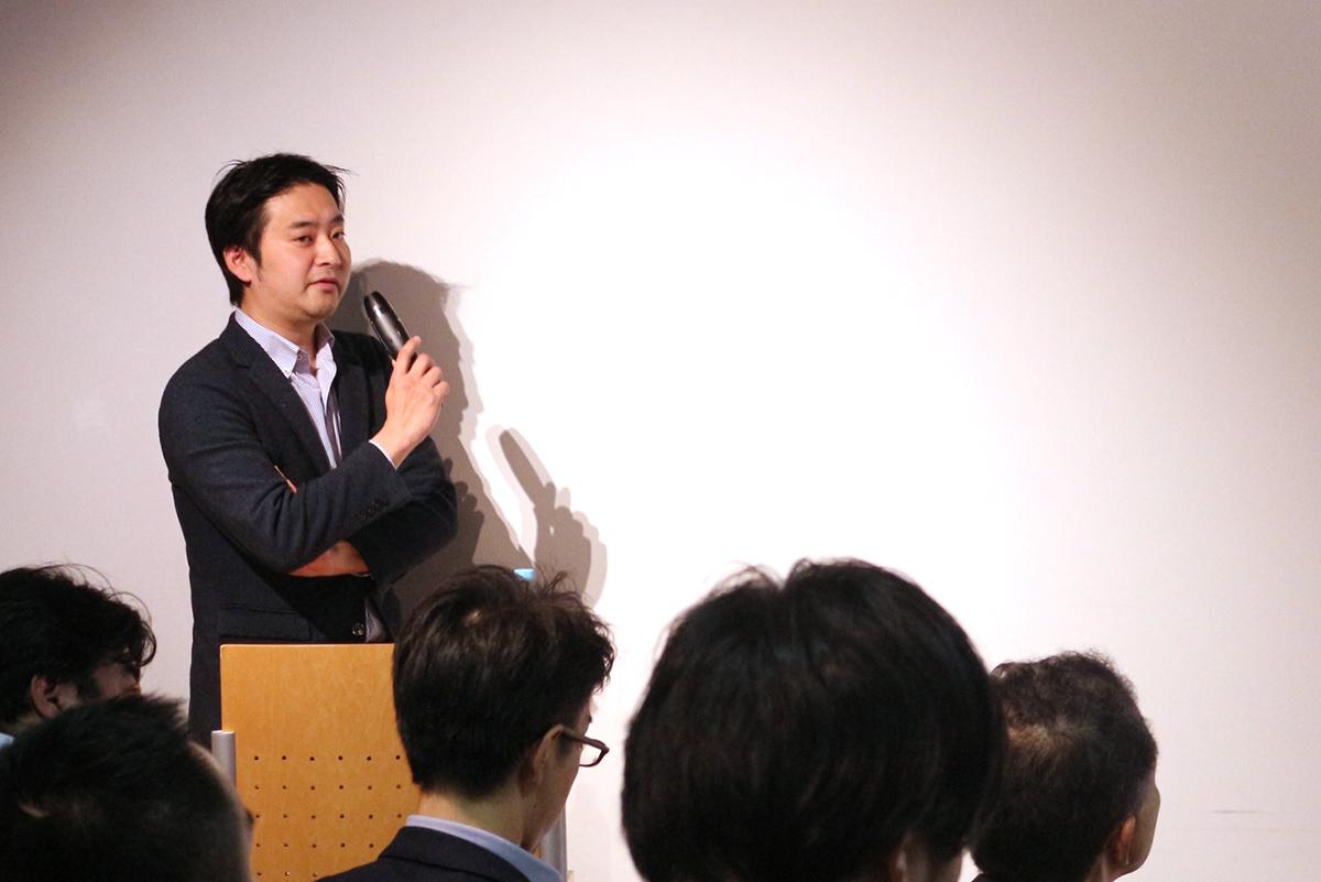 Junji Takaoka from UsideU Co., Ltd. was also a guest speaker at addlight Inc.'s Mirai Salon 6 event.