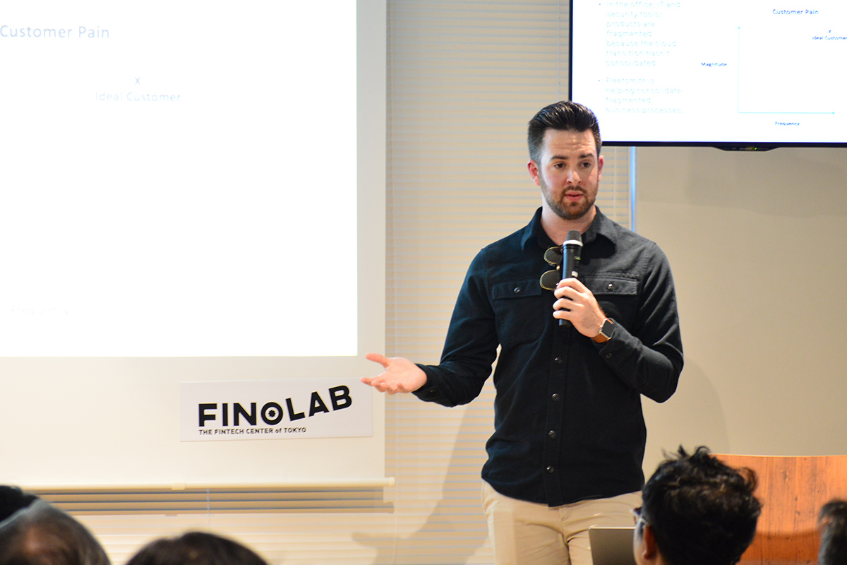 Zack Blum from Fleetsmith was a guest speaker at addlight Inc.'s event series Trend Note Camp.