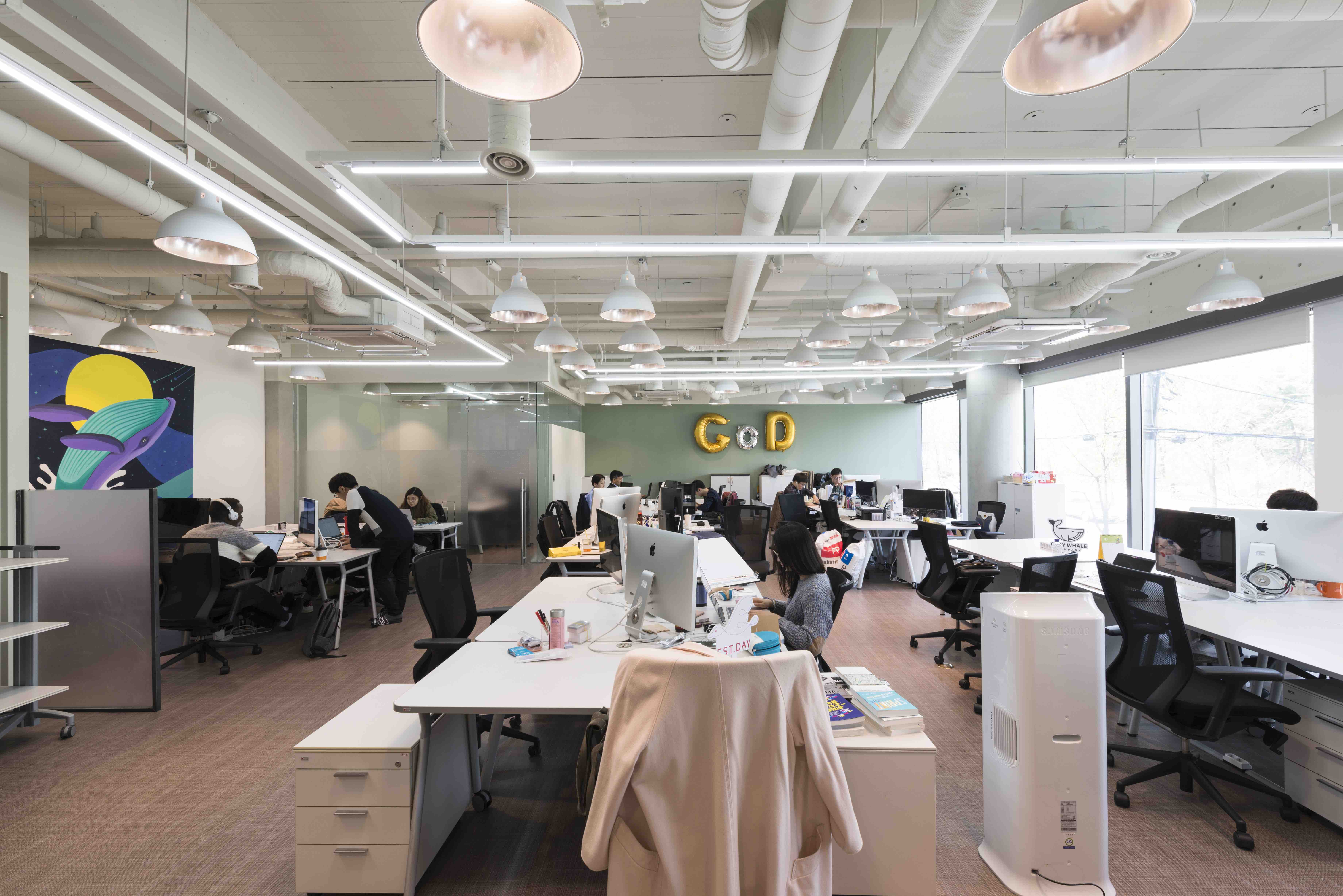 A new wave of innovation in Korea is being driven by startups, including those based at D.CAMP, above. The hub has hosted such startup stars as Supercell, from Finland, and Oculus, from Silicon Valley. (Photo: D.CAMP)