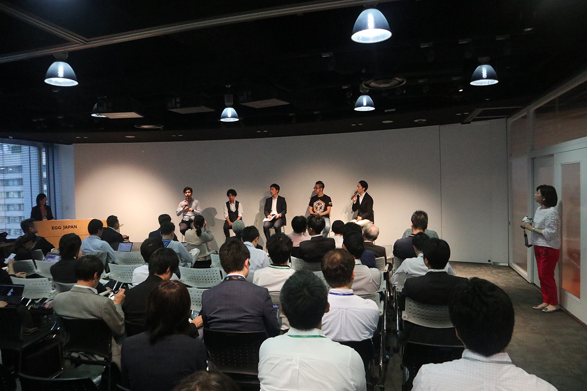 The Mirai Salon #8 event ended with a Q&A session and networking opportunity over light snacks and drinks for attendees.