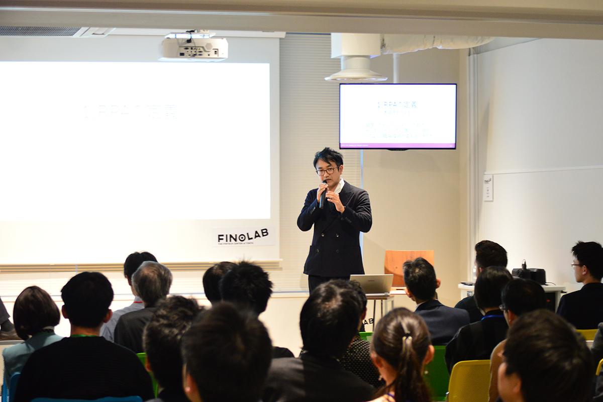 一般社団法人日本RPA協会・代表理事/RPAテクノロジーズ株式会社・代表取締役社長の大角暢之氏