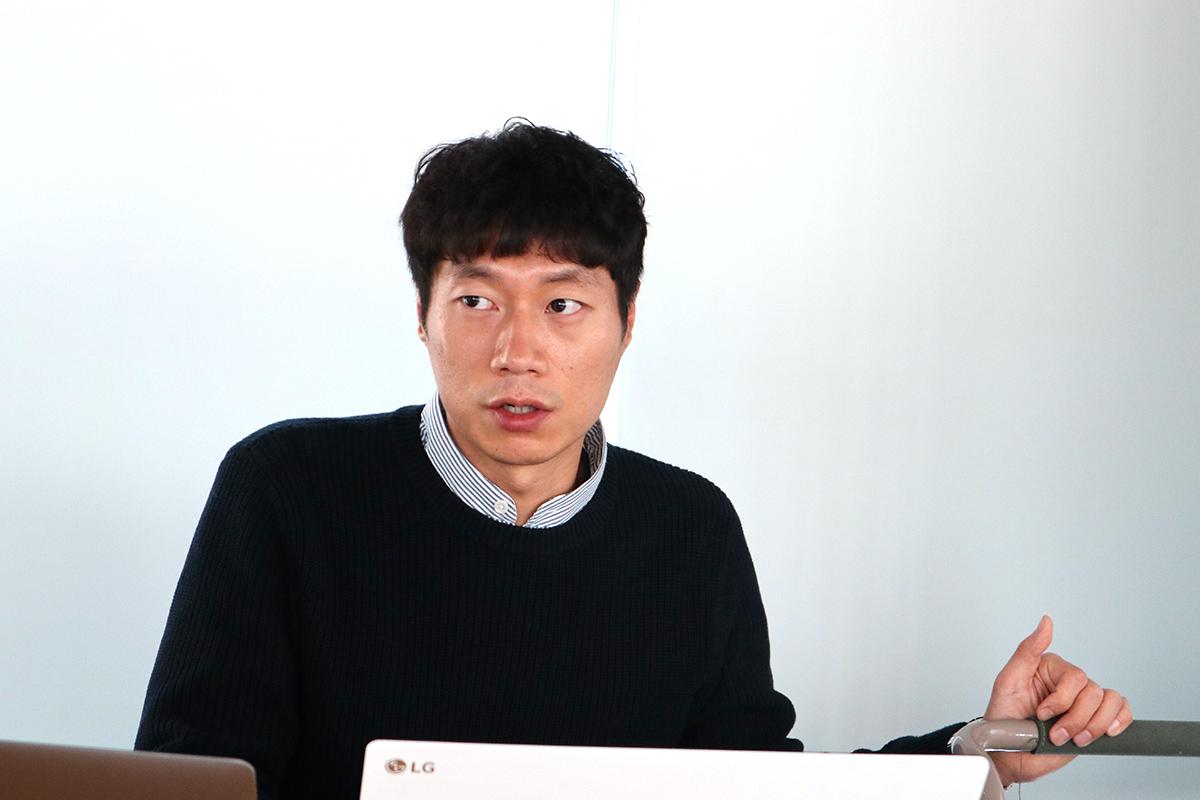 Lotte Accelerator アクセラレーティングチーム マネージャー・Lee June氏