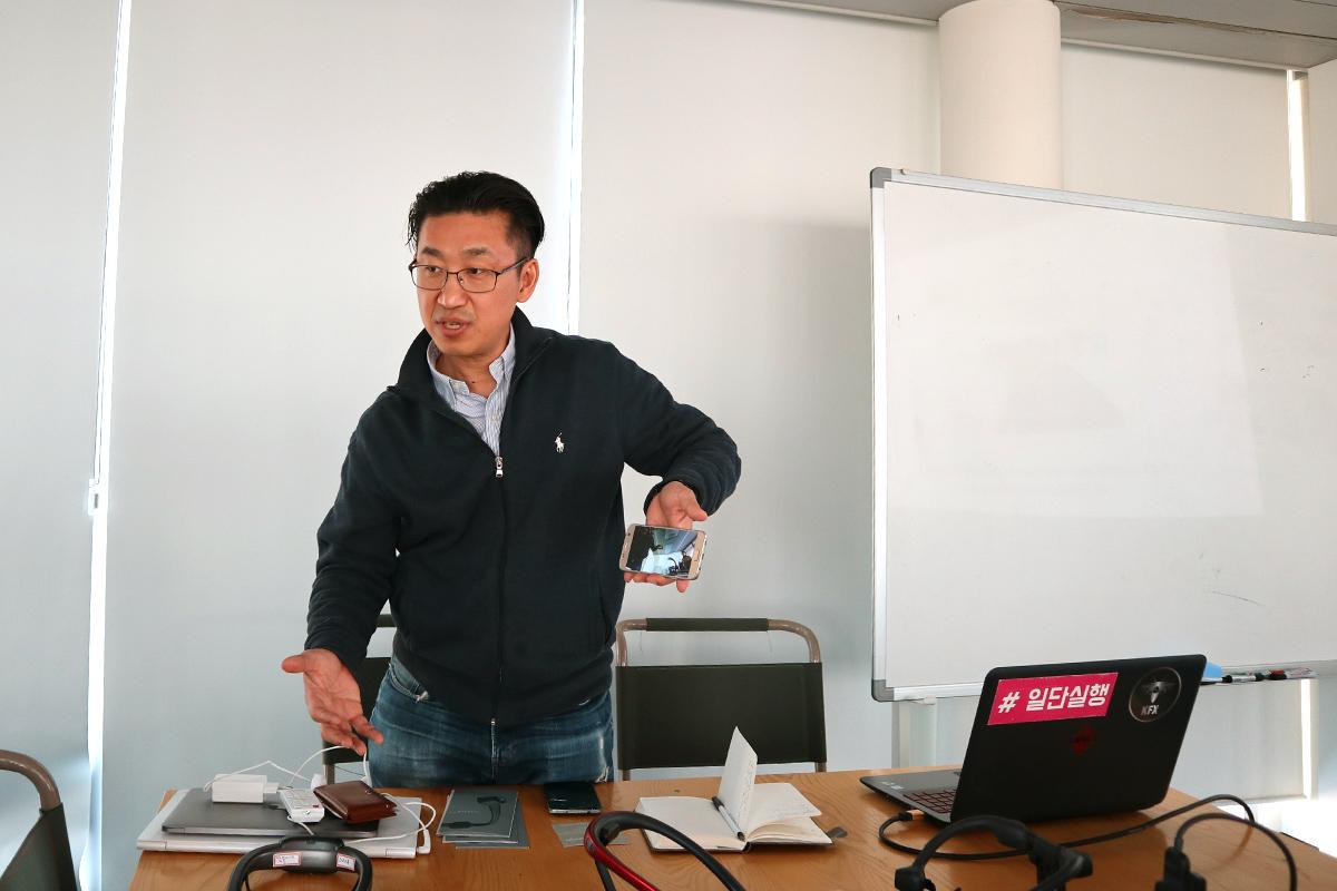 LINKFLOW CEO:Kim氏