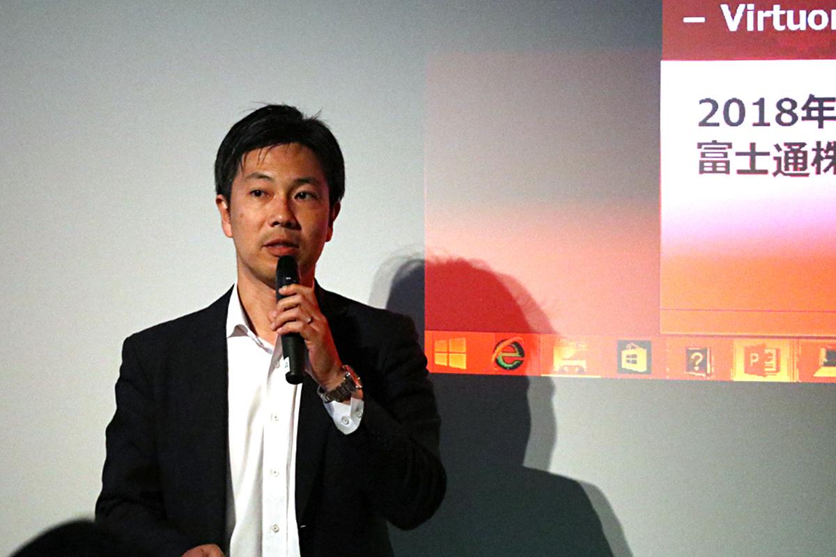 富士通株式会社 ネットワークソリューション事業本部 サービスビジネス事業部 シニアマネージャー・池田栄次氏