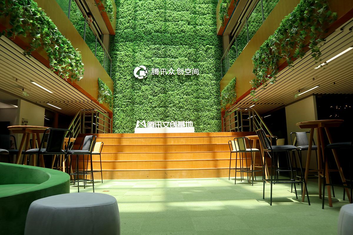 Tencent(テンセント)「騰訊衆創空間」のインキュベーションエリア